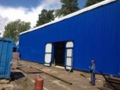 ангары, строительство складов и ангаров