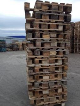 Продам деревянные поддоны б/у,1200/800, Евро 2 сорт